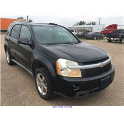2008 - CHEVROLET EQUINOX//SALVAGE TITLE// TX REGISTRATION ONLY