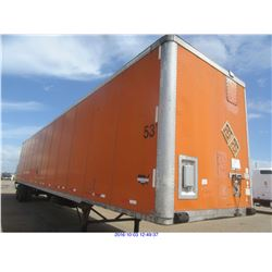 2003 - WABASH DRY VAN// TX REGISTRATION ONLY