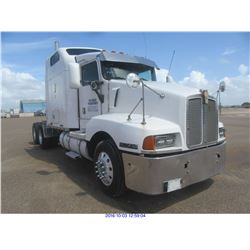 1996 - KENWORTH AEROCAB//DIESEL// TX REGISTRATION ONLY