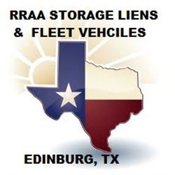 RRAA STORAGE LIENS AND FLEET VEHICLES