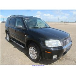 2006 - MERCURY MARINER//EXPORT ONLY