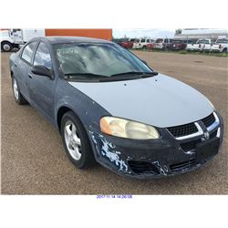 2005 - DODGE STRATUS  // TX REGISTRATION ONLY