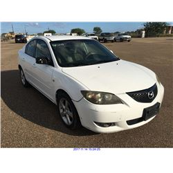2006 - MAZDA MAZDA3  // TX REGISTRATION ONLY