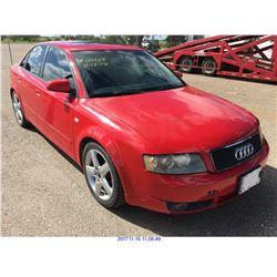 2005 - AUDI A4