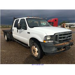2002 - FORD F550