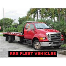 RRE FLEET VEHICLES