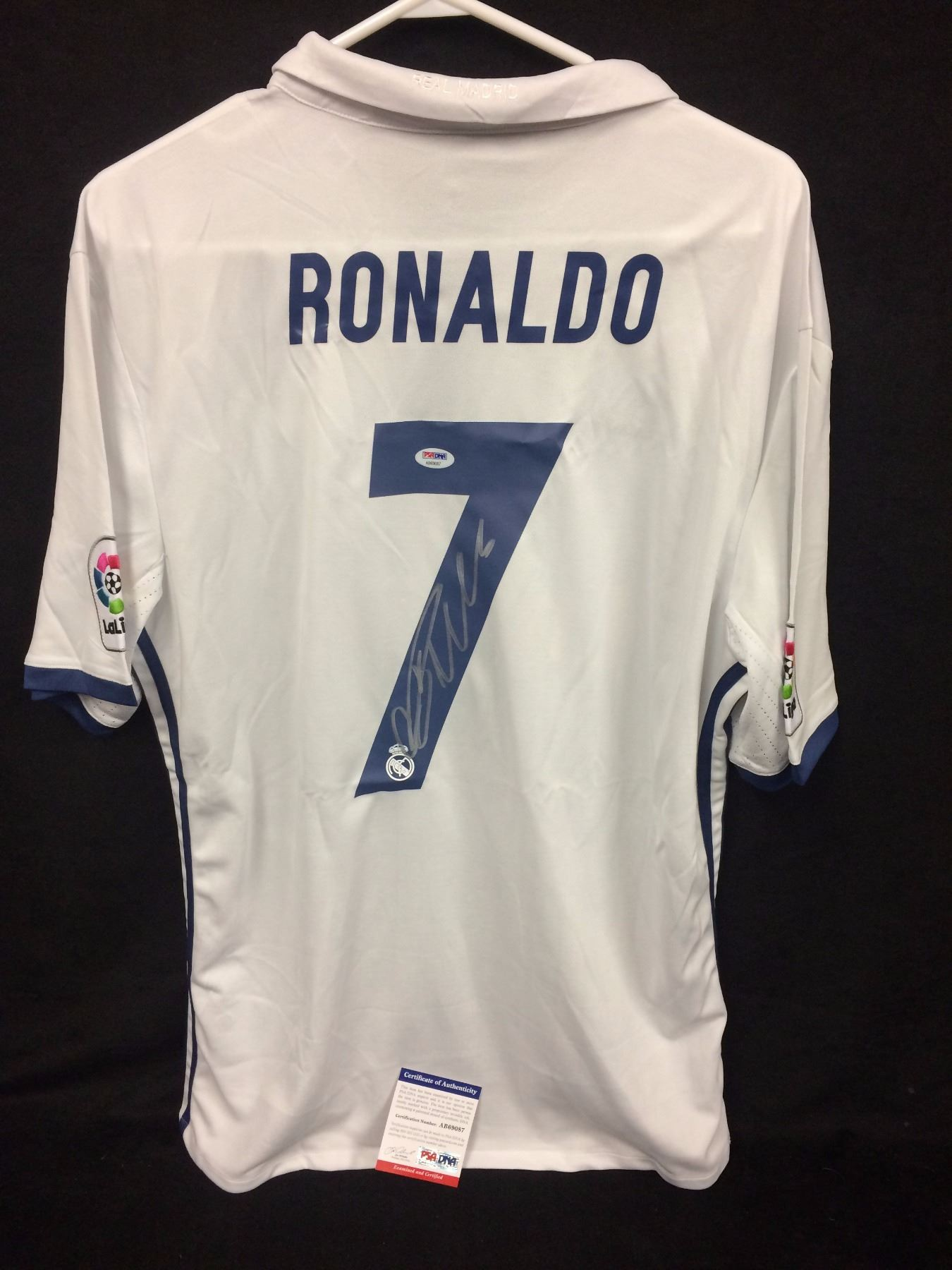 best sneakers 8794c af08f CRISTIANO RONALDO AUTOGRAPHED REAL MADRID JERSEY (PSA COA)