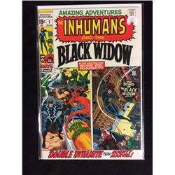 Black Widow & The Inhumans, #1 Marvel Comics