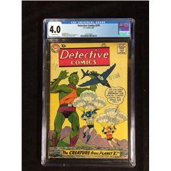 DETECTIVE COMICS #270 (DC COMICS 8/59) 4.0 OFF-WHITE PAGES