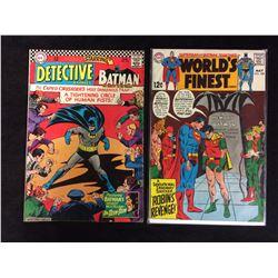 DETECTIVE COMICS STARRING BATMAN #354, WORLD'S FINEST #184 (DC COMICS)