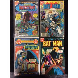BATMAN'S DETECTIVE & BATMAN COMIC BOOK LOT (DC COMICS)
