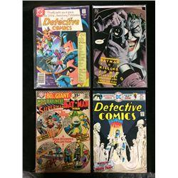 DC COMICS COMIC BOOK LOT (DETECTIVE COMICS, SUPERMAN & BATMAN)