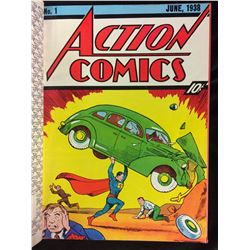 ACTION COMICS ( 1939 REPRINTED AND BOUND 1972) EXCELLENT CONDITION