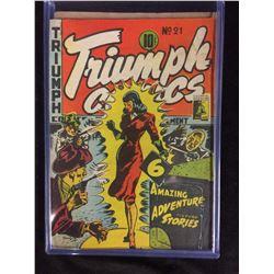 TRIUMPH COMICS #21
