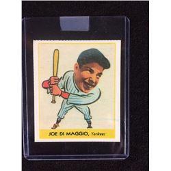 1938 Goudey Heads Up Card 250 Joe Dimaggio Rookie Card