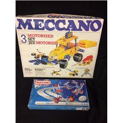 MECCANO TOY MODEL KITS LOT