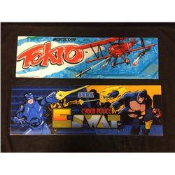 ARCADE GAME GLASS (TOKIO, CYBER POLICE E SWAT)
