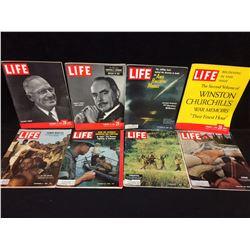 VINTAGE LIFE MAGAZINE LOT (TRUMAN, DEAN ACHESON & MORE)
