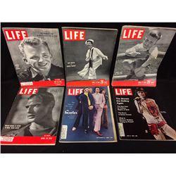 VINTAGE LIFE MAGAZINE LOT (GARY CROSBY, MARY MARTIN & MORE)