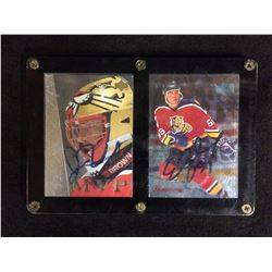 John Vanbiesbrouck & Ed Jovanowski Autographed Hockey Cards Lot