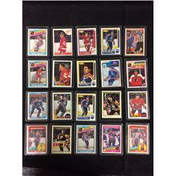 NHL HOCKEY ROOKIES & STARS CARDS LOT (GRETZKY, YZERMAN, MESSIER & MORE)