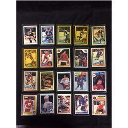 NHL HOCKEY ROOKIES & STARS CARDS LOT (VAIVE, OLCZYK, NILAN & MORE)