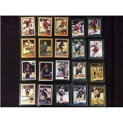 NHL HOCKEY ROOKIES & STARS CARDS LOT (BARBER, SAVARD, SUTTER & MORE)