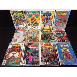 THE NEW TEEN TITANS COMIC BOOK LOT