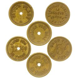 Jerome, Arizona Token Trio