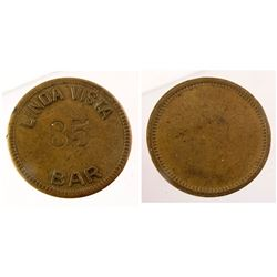 Linda Vista Bar Token (Linda Vista, California)