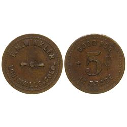 F. M. Winkler Token (Louisville, Colorado)