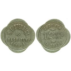 H. E. Stebbins Token (East Ely, Nevada)