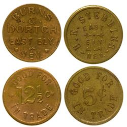 Two East Ely, Nevada Tokens