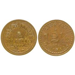 Bakery Saloon Token (Elko, Nevada)