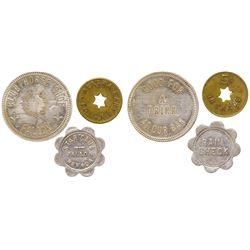 Fallon, Nevada Token Trio