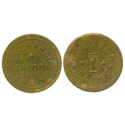 Exchange Saloon Token (Golconda, Nevada)