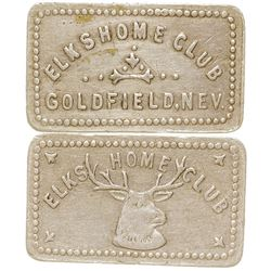 Elks Home Club Token (Goldfield, Nevada)