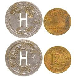 Hermitage Tokens (Goldfield, Nevada)