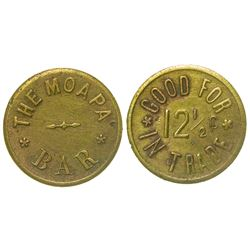 Moapa Bar Token (Moapa, Nevada)