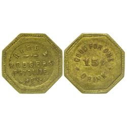 Reed & Rodgers Error Token (Rhyolite, Nevada)