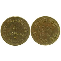 The Wellington Token (Searchlight, Nevada)