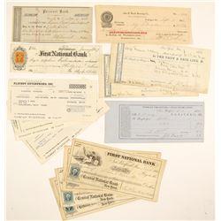 Eastern US Checks (1854-1982)