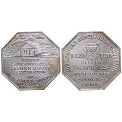 Lesher Referendum Silver Dollar