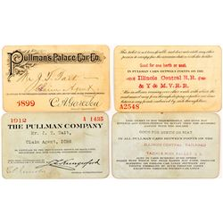 Two Pullman Company Passes