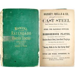 Poor's Manual of Railroads Of the US 1872-1873