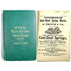 Poor's Manual of Railroads Of the US 1879