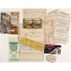 Colorado Railroad Tickets & Ephemera