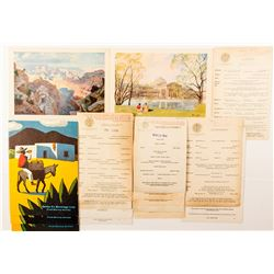 17 Railroad Menus