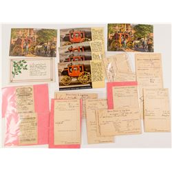Wells Fargo & Co. Cards and Receipts