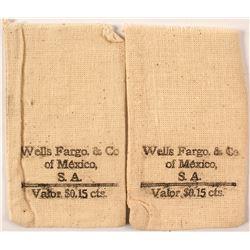 Wells Fargo of Mexico Coin Bags